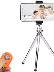 Aluminium alloy 9 3 sections Universal Smartphone Tripod