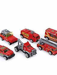 Недорогие -Экипаж Игрушечные машинки Пожарная машина Игрушки Универсальные Куски