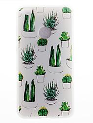 economico -Caso per huawei p8 lite (2017) p10 copertura caso cactus modello rilievo 3d tpu cassa del telefono materiale per huawei p10 lite p10 plus