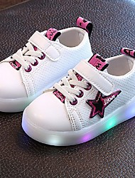 cheap -Boys' Sneakers Light Up Shoes Summer Fall TPU Leatherette Casual LED Low Heel Purple Yellow Green Under 1in