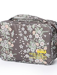 cheap -Travel Bag Travel Luggage Organizer / Packing Organizer Cosmetic & Makeup Bag Waterproof Portable Cute for Clothes Nylon 29*11*18 Floral