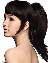 Недорогие -Конские хвостики / Волосы Искусственные волосы Волосы Наращивание волос Естественные волны