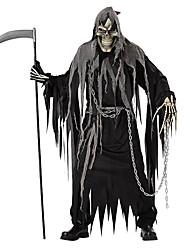 Squelette/Crâne Cosplay Faucheuse Costumes de Cosplay Pour Halloween Masculin Unisexe Halloween Carnaval Le jour des morts Fête /