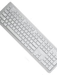 Cristal de duas cores transmissão de luz abs keycap 104 teclas ajustadas para teclado mecânico