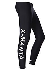 baratos -Dive&Sail Homens Mulheres Unisexo 1mm Mergulho Skins Calça de Mergulho Prova-de-Água Térmico/Quente Secagem Rápida Resistente Raios