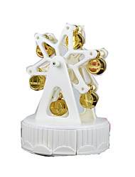 cheap -Music Box Model Building Kit Circular Ferris Wheel Furnishing Articles Women's Gift