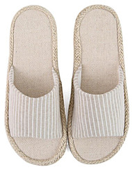 cheap -Men's Slippers House Slippers Solid Knit solid color