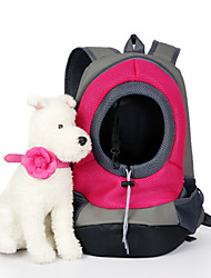 cheap -Cat Dog Carrier & Travel Backpack Pet Baskets Solid Portable Breathable Yellow Red Green Blue Pink For Pets