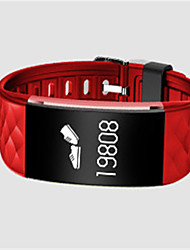 Per donna Smart watch Orologio alla moda Digitale Silicone Banda Nero Bianco Rosso