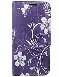 Carcasă Pro Samsung Galaxy S8 S7 Peněženka Pouzdro na karty se stojánkem Flip Vzor Oboustranný Květiny Pevné Umělá kůže pro S8 S7 S6 edge