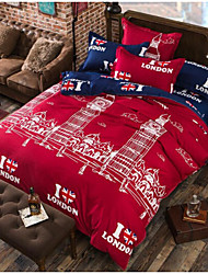 cheap -Comfortable Duvet Cover, 100% Polyester Printed Flag