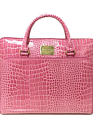Women Bags All Seasons PVC Tote for Casual Office & Career Pink