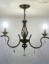 cheap -European Style Crystal Chandelier Restaurant Small Chandelier Simple Creative Lamps