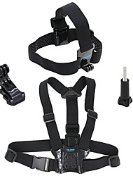 economico -Imbracatura Petto / Fascia per il petto Fissaggio Frontale Facile da indossare Traspirante Facile da portare Impermeabile Per Videocamera