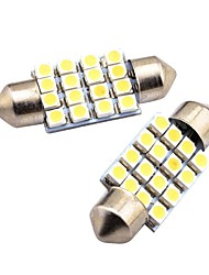 cheap -1PCS C5W Festoon 36mm Car Interior Dome Festoon Bulb Reading Light Licence Plate Lamp