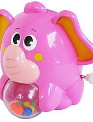 Недорогие -Игрушка с заводом Игрушки Слон Животный принт Пластик Куски Универсальные Подарок