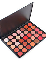 35OS Shimmer Nature Glow Eyeshadow Palette Bright Light Warm Matte Pigment Shadow Powder Contour Salon Pro Set Cosmetic Kit