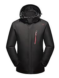 cheap -LEIBINDI Men's Women's Hiking 3-in-1 Jackets Outdoor Winter Keep Warm Breathable Wearproof 3-in-1 Jacket Top Camping / Hiking Climbing