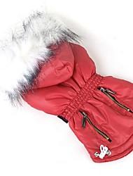 abordables -Perro Abrigos Ropa para Perro Casual/Diario Año Nuevo Sólido Morado Rosa Rojo Verde Azul Disfraz Para mascotas