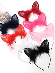 cheap -Clips Hair Accessories Rabbit Fur Alloy Wigs Accessories Women's 1pcs pcs cm Daily Classic High Quality