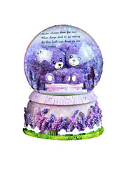 abordables -Balles Boîte à musique Boule à neige Romantique Articles d'ameublement Rotatif Enfant Adultes Enfants Adulte Cadeau Fille
