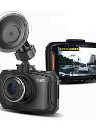 D90 1920 x 1080 140 Grad Auto dvr 3 Zoll LED AutokameraforUniversal Parkmodus Bewegungsmelder Auto On / Off Eingebauter Mikrofon