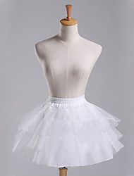 Wedding / Party Slips A-Line Slip / Ball Gown Slip Short-Length Polyester / Tulle Short Petticoats White / Black