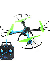 RC Drone JJRC H98C Blue 4CH 6 Axis 2.4G With 0.3MP HD Camera RC Quadcopter One Key To Auto-Return Headless Mode 360°Rolling Hover With