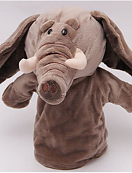cheap -Finger Puppets Stuffed Toy Toys Elephant Horse Cow Hippo Deer Animals Cotton Cloth Children's Adults' Pieces