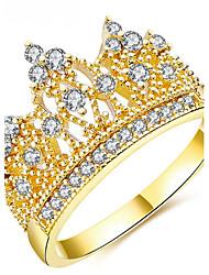 Per donna Struttura dell'anello Fedine AnelloClassico Originale Amicizia Crossover Elegant Di tendenza Stile punk Adorabile