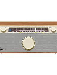baratos -WR-12BT FM Radio FM / Alto Falante Embutido Receptor do mundo Marron