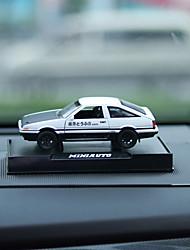 Недорогие -DIY автомобильный орнамент автомобиль модель звук светящиеся кулон автомобиля&Украшения из пластика