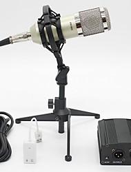 Недорогие -BM8001 Проводное Микрофон Конденсаторный микрофон Ручной микрофон Назначение ПК