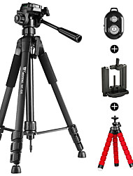 Aluminium alloy 52 1 sections Universal Smartphone Tripod