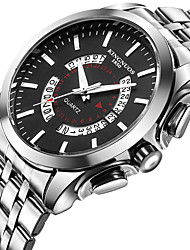 Men's Kid's Fashion Watch Unique Creative Watch Casual Watch Chinese Quartz Calendar Water Resistant / Water Proof Stainless Steel Band