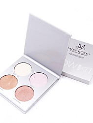 Concealer/Contour Highlighters/Bronzers Shimmer Pressed powder Concealer Face China