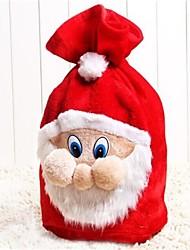 Недорогие -1pcs рождественские украшения сумки рождественские подарки конфеты сумки рождественские подарочные пакеты