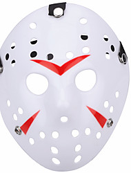 halloween new porous jason killer mask rayon rouge 13e horreur hockey cosplay carnaval mascarade costume costume de fête