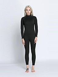 cheap -Women's Full Wetsuit 2mm Diving Suit Anatomic Design Full Body - Surfing / Diving Solid Colored / Back Zipper All Seasons