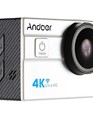Andoer Ultra HD Action Sports Camera 2.0 LCD 16MP 4K 25FPS 1080P 60FPS 4X Zoom WiFi 25mm 173 Degree Wide-Lens Waterproof 30M Car DVR DV Cam Diving