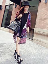 Women's Cotton Rectangle Check Spring/Fall Winter