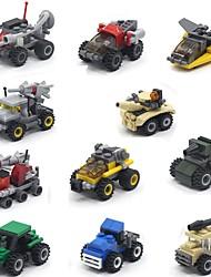 Недорогие -Игрушечные грузовики и строительная техника / Наборы для моделирования / Обучающая игрушка Танк Грузовик Оценка А системы ABS  Универсальные Подарок 1 pcs