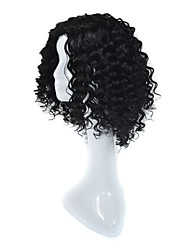 Горячие глянцевые человеческие волосы парики для черных женщин дешевые бразильские виргинские человеческие волосы черный цвет глубокие