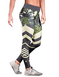 economico -Per donna Medio spessore Monocolore A fantasia Gambale,Verde militare