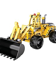 cheap -Toy Cars Building Blocks Educational Toy Toys Excavating Machinery DIY Plastics Acetate/Plastic ABS Kid's Kids' Children's Pieces