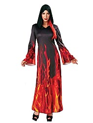 Ghost Vampire Cosplay Cosplay Costumes Masquerade Female Adults' Halloween Carnival Festival/Holiday Halloween Costumes Others Vintage