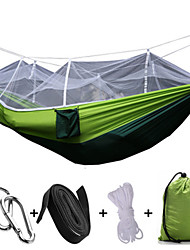 cheap -1 Camping Hammock with Mosquito Net Collapsible Anti-Mosquito Nylon for Camping Camping / Hiking / Caving Outdoor