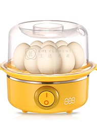 LIFE ELEMENT ZDQ Egg Cooker Single Eggboilers Detachable Timing Function 220V Anti-Dry