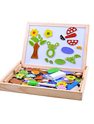 abordables -Jeu de Dessin Tablettes de Dessin Puzzle Jouet Educatif Soleil Fleur Autre Animaux Magnétique Unisexe Jouet Cadeau