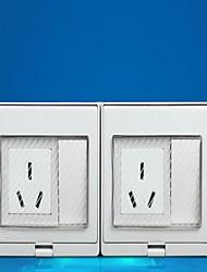 Недорогие -Электрические розетки PP С коммутатором 19*9*5